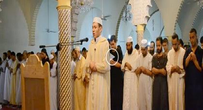 جانب من الأجواء الإيمانية أثناء صلاة التراويح بمدينة العروي