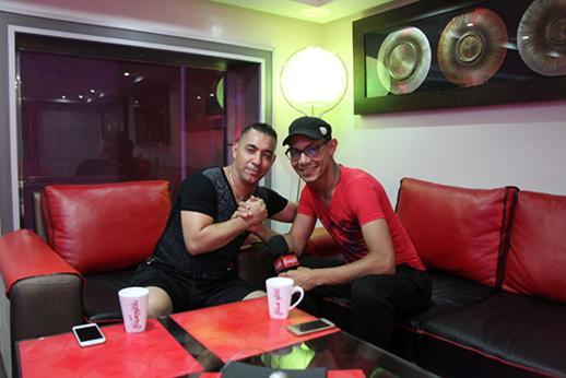 """عبد القادر أرياف ضيف برنامج """"قهوة مع فنان"""" على ناظورسيتي"""