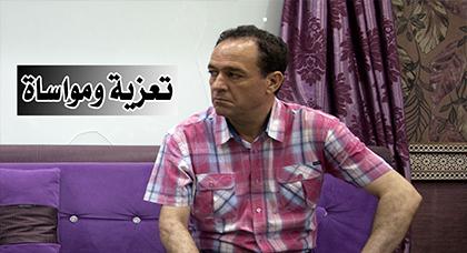 تعزية ومواساة للفنان سعيد المرسي في وفاة شقيقه محمد المرسي