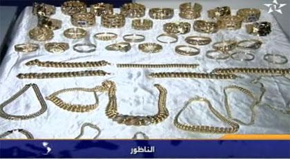 القناة الأولى تبثّ تفاصيل حجز 24 كلغ من الذهب كانت ناظورسيتي سبّاقة إلى نشر خبره