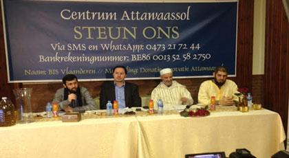 المركز الإسلامي التواصل بأنفرس البلجيكية،ينظم أياما تواصلية ناجحة مع الجالية المسلمة لحثها على الإنفاق لإصلاح المركز.