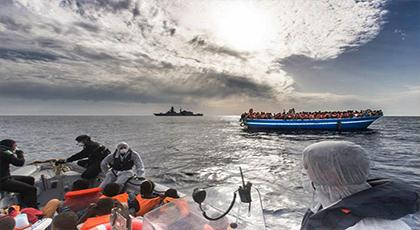 منظمة الهجرة: مليون مهاجر دخل أوربا عبر تركيا و 3695 ماتوا أو إختفت آثارهم