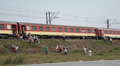 قطار الناظور يبتر رجلي شاب بتاوريرت