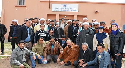 زيارات ميدانية تقود السيد رئيس مجلس جهة الشرق  إلى جماعات المغرب العميق