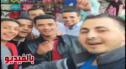 الكوميدي علاء بن حدو في جولة  بسوق أولاد ميمون