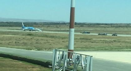 """طائرة """"مشبوهة"""" قادمة من بروكسيل تستنفر الأمن بمطار وجدة انكاد"""