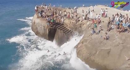 """شاطئ """"إغونجا"""" الرائع ببلدة قابوياوا"""