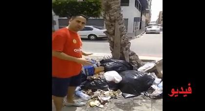 بالفيديو: ناشط مدني ينتقد منتخبي الناظور بطريقته الخاصة