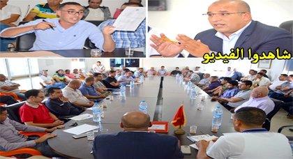 مومني يعرض حصيلة سنة من عمل المجلس وهذه هي مطالب ممثلي الجمعيات