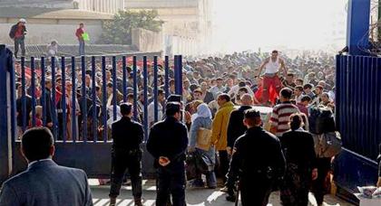 حملة اسبانية لمنع ساكنة الدريوش من دخول مليلية بدون تأشيرة