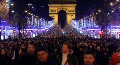 تأهب أمني استثنائي قبيل احتفالات رأس السنة الجديدة 2017 بفرنسا