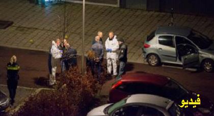 بالفيديو: عصابة مجهولة تصفي شابا ينحدر من الدريوش رميا بالرصاص بمدينة أوتريخت