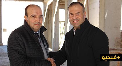 """مدير وكالة تهيئة """"مارتشيكا"""" يعد رئيس بلدية الناظور بدعم مركز السرطان"""