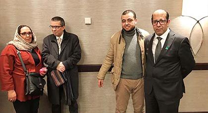 سفير المملكة المغربية ببلجيكا محمد عامر يعقد لقاء تواصلي مثمر مع الجالية المغربية ببروكسيل