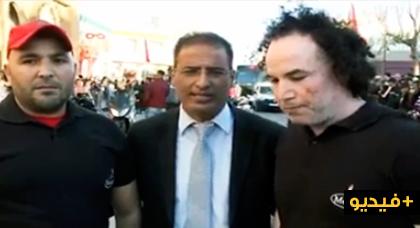 """الجزيرة الرياضية تُسلط الضوء على صديق الناظوريين البطل """"لكميري"""" باعتباره أقوى رجل في المغرب"""