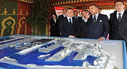 يزعج إسبانيا والجزائر.. المغرب يطلق ميناء غرب المتوسط بالناظور