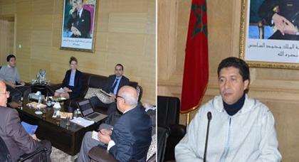وزير الداخلية يجتمع مع رئيس مجلس الشرق ووزراء للتسريع بإخراج المشاريع المبرمجة بالناظور