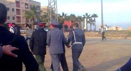 درك الدريوش يعتقل ثلاثة قاصرين على خلفية سرقة منازل بحي السعادة ومنزل بحي الأمل الغربي