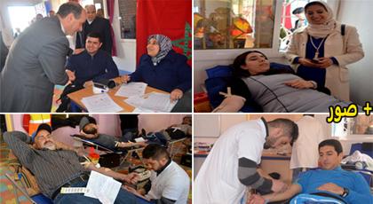 الدريوش.. إقبال مكثف على النسخة الثانية من حملة التبرع بالدم التي أشرفت عليها جمعية الشباب