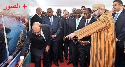 """الملك محمد السادس يطلع على مستوى تقدم أشغال المشروع المستنسخ عن تجربة """"مارتشيكا"""" بالكوت ديفوار"""