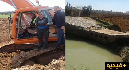 وكالة مارشيكا تشرع في تنقية نهرين داخل تراب جماعة بوعارك