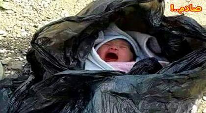 الدريوش.. العثور على طفلة حديثة الولادة بميضار والدرك الملكي يتمكن من إلقاء القبض على الجانية
