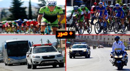 """دّراجي سباق """"طواف المغرب"""" يعبرون تراب إقليم الدريوش ويتحفون الساكنة بالأجواء التنافسية"""