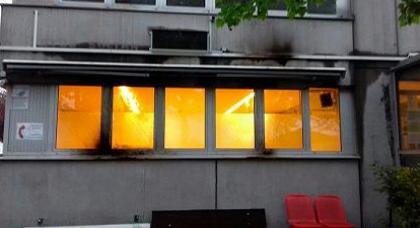 استهداف بناية مسجد بزجاجات حارقة في ألمانيا
