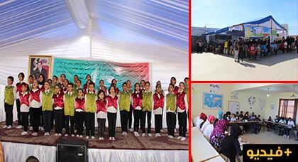 ورشات متنوعة لفائدة أطفال جماعة تازاغين من تنظيم حركة الطفولة الشعبية