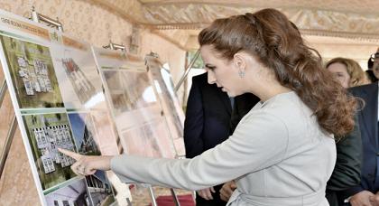 الأميرة لالة سلمى تحل بوجدة لوضع الحجر الأساس لمشروع بناء مستشفى السرطان