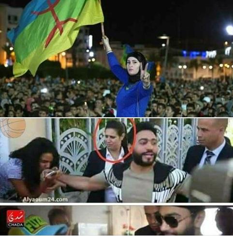 فضيحة بجلاجل: سخط فيسبوكي واسع بعد تقبيل مغربيات يد تامر حسني ومقارنتها بناشطات الحراك بالريف