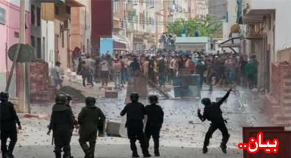 الجمعية المغربية لحقوق الإنسان بالناظور تدين بشدة المقاربة الأمنية المعتمدة مع حراك الريف