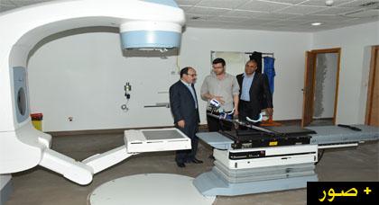 إلياس العماري يزور المركز الجهوي للأنكولوجيا بمدينة الحسيمة