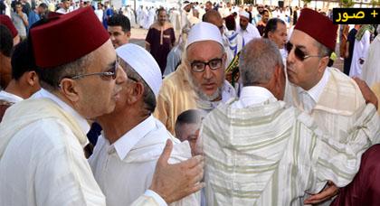 الدريوش.. صلاة العيد تتحول إلى لحظات من الحزن بعد توديع عامل الإقليم جمال خلوق