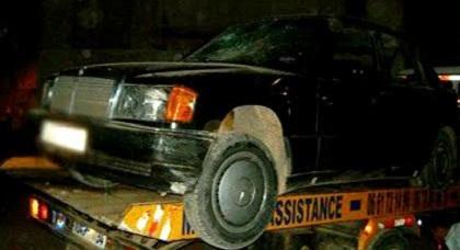بعد مطاردتها.. درك الدريوش يحجز سيارة مزورة الصفائح وسائقها يلوذ بالفرار