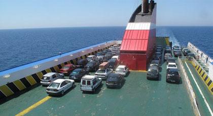 أرقام قياسية في عدد أفراد الجالية  الوافدين عبر ميناء مليلية خلال السبت والأحد الماضيين