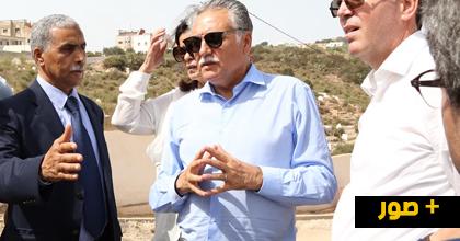 الوزير نبيل بن عبد الله يتجول بالحسيمة ويتفقد مجموعة من المشاريع