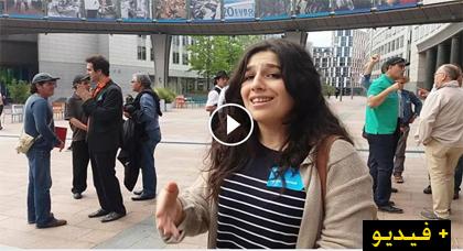 الفنانة الصاعدة لينا الشريف من أمام البرلمان الأوروبي: ما يقع في الريف إهانة لتاريخه وتضحياته