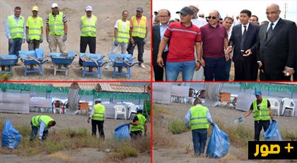 بعد حملات تنظيف المراكز الصحية.. عامل إقليم الدريوش يعطي انطلاق حملات النظافة بشواطئ الإقليم
