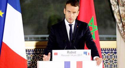 """شخصيات فرنسية تستنكر دعم """"ماكرون"""" للمقاربة الأمنية في الريف"""
