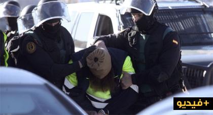 إسبانيا.. إعتقال داعشي مغربي على اتصال مباشر مع مقاتلين يوجدون في مناطق النزاعات