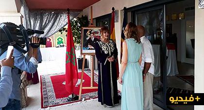 روبورتاج مطول : القنصلية العامة للمملكة المغربية بجزيرة مايوركا تحتفل بعيد العرش المجيد