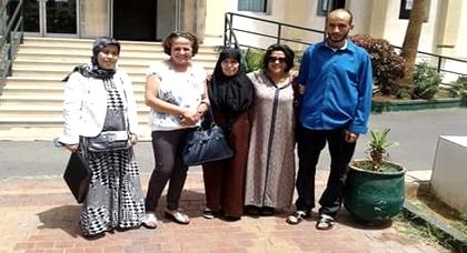 لأول مرة منذ اعتقاله.. عائلة ربيع الأبلق تزوره بعد تعليقه للإضراب