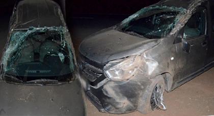 إصابة 3 سيدات وطفلة من عائلة واحدة في حادث إنقلاب سيارة بمدخل مدينة بن الطيب وهذه التفاصيل