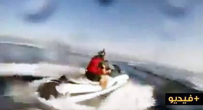مطاردة لجيتسكي من طرف خفر السواحل الأسبانية