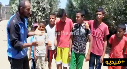 نصريح للأطفال الذين اغتصبوا حمارة