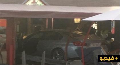 فيديو.. مصرع طفلة وإصابة 5 أشخاص في حادث دهس رواد مطعم بفرنسا