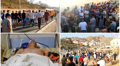 المئات يشيعون جنازة الضحية الثاني لحراك الريف