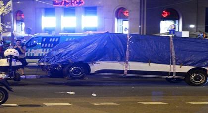 الشرطة الاسبانية تتعرف على هوية سائق الشاحنة التي استخدمت في اعتداء برشلونة