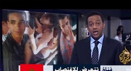 """بالفيديو..حادثة فتاة """"الطوبيس"""" المغتصبة تصل الى قناة الجزيرة"""